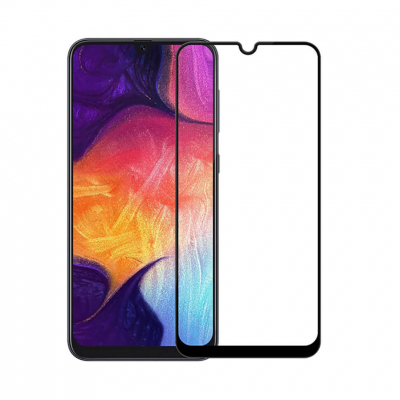 Защитное 6D Full Glue Стекло Rinbo для Samsung Galaxy A70 A705F Black