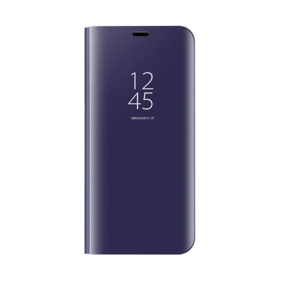 Чехол-книжка Mirror Clear View для Honor Play, Purple Blue