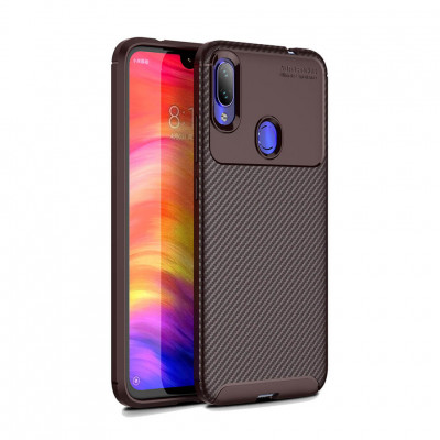 Чехол Lenuo Anti-Fall для Redmi Note 7 / Note 7 Pro Brown