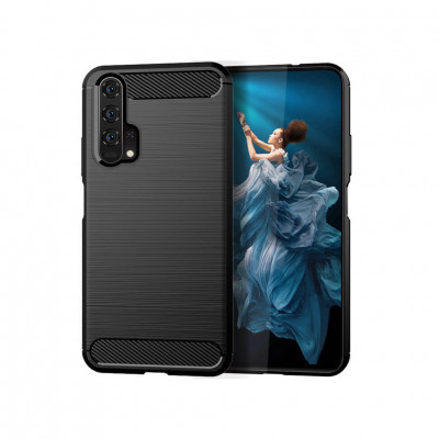 Накладка Lenuo Carbon Fiber для Honor 20 / Huawei Nova 5T Black