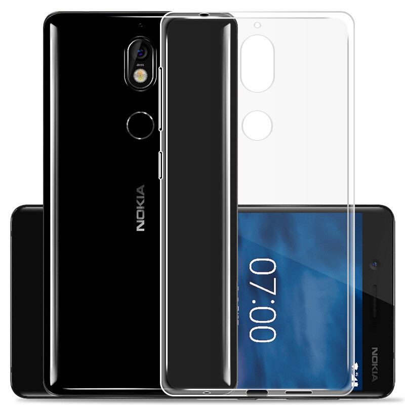 Чехол GOR для Nokia 7 Transparent