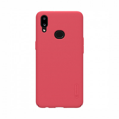 Пластиковый чехол Nillkin Super Frosted Shield для Samsung Galaxy A10S A107F Red