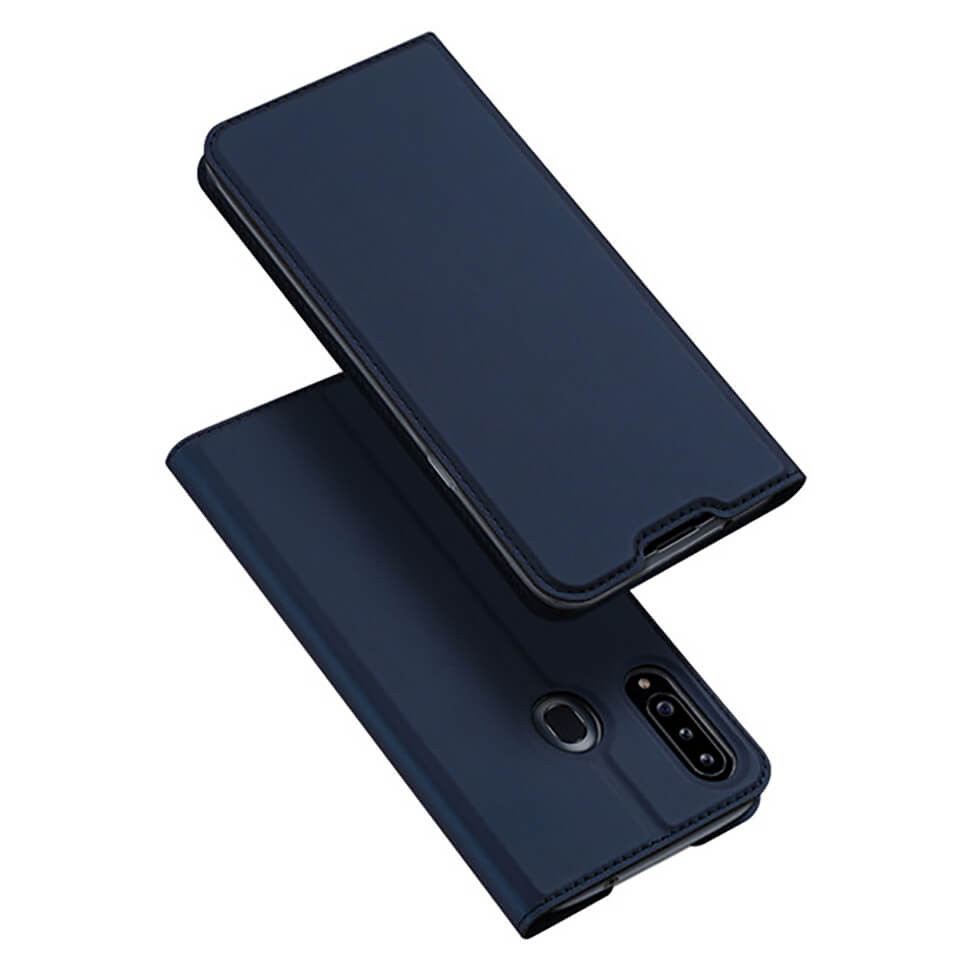 Чехол-книжка Dux Ducis Skin Pro для Samsung Galaxy A20s A207F Navy Blue