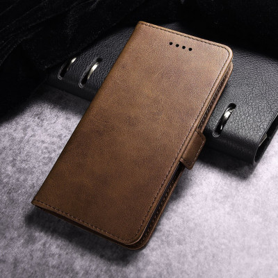 Чехол-книжка EcoCase Skin Series для Samsung Galaxy A71 A715F Brown