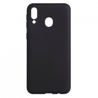 Чехол Shell Liquid Silicone для Samsung Galaxy M20 M205F Black