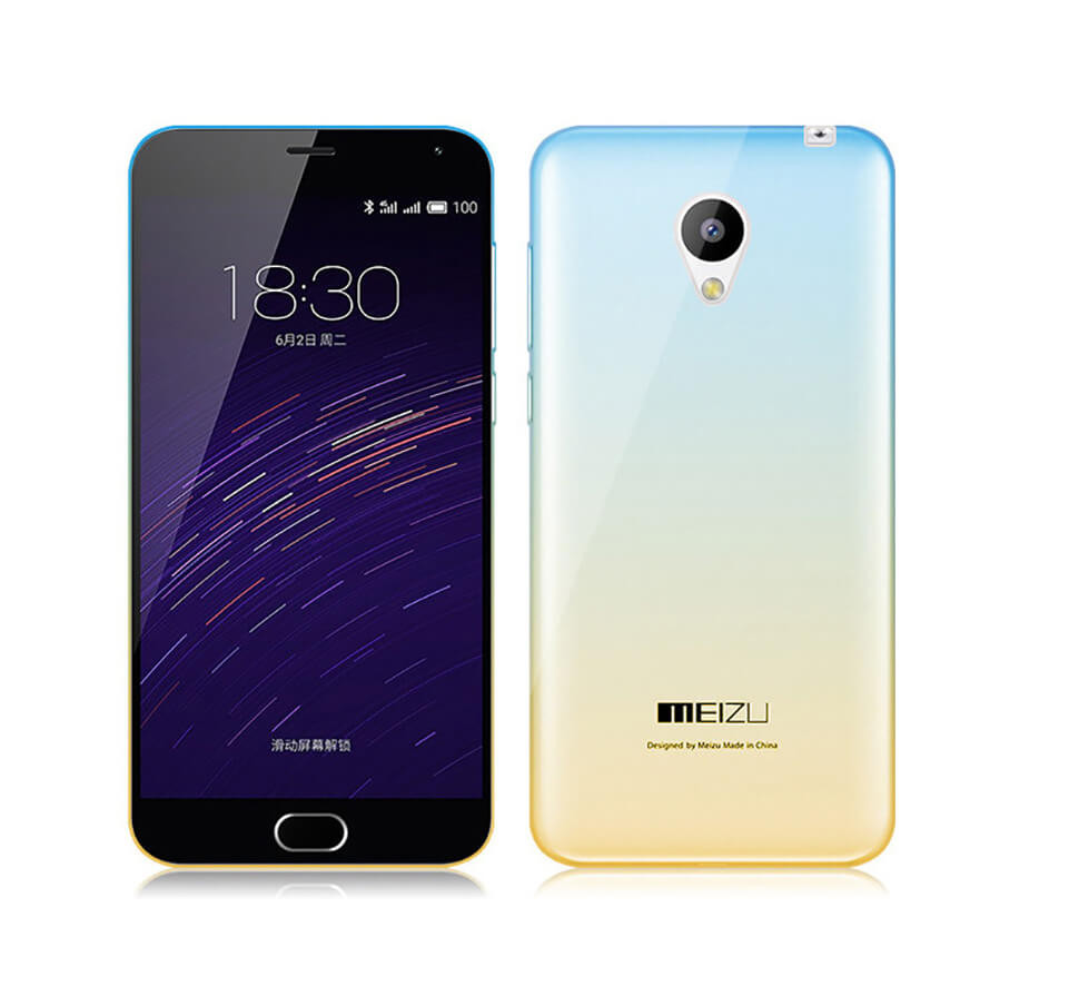 Чехол Shell для Meizu M2 Note Blue/Yellow