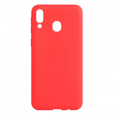 Чехол Shell Liquid Silicone для Samsung Galaxy M20 M205F Red