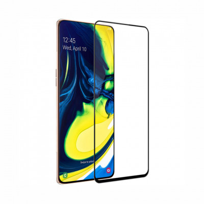 Защитное 3D стекло Nillkin CP+PRO для Samsung Galaxy A80 A805F Black
