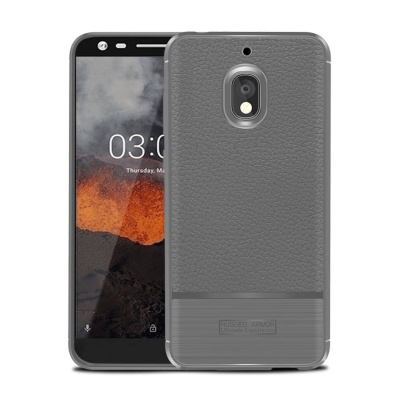 Чехол Rugged Armor для Nokia 2.1, Серый
