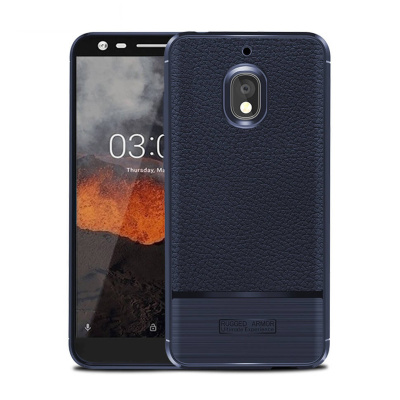 Чехол Rugged Armor для Nokia 2.1, Синий