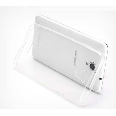 Чехол Shell для Coolpad Modena E501 Transparent