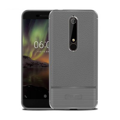 Чехол Rugged Armor для Nokia 6.1, Серый