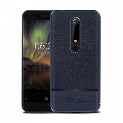Чехол Rugged Armor для Nokia 6.1, Синий