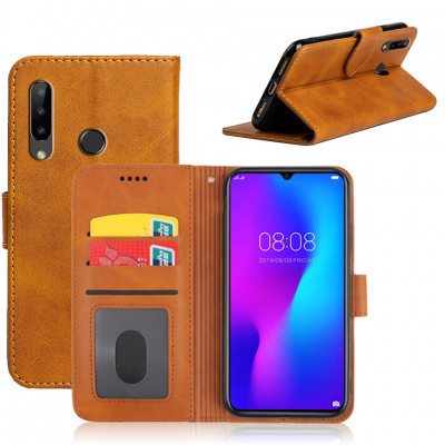 Чехол-книжка EcoCase Skin Series для DOOGEE N20 / DOOGEE Y9 Plus Yellowish Brown