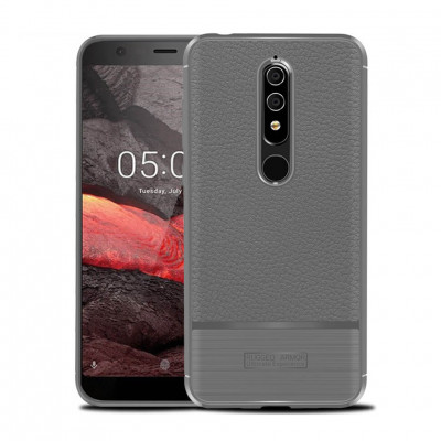 Чехол Rugged Armor для Nokia 5.1 Gray