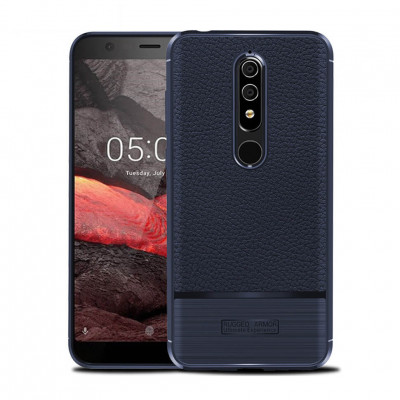 Чехол Rugged Armor для Nokia 5.1 Navy Blue