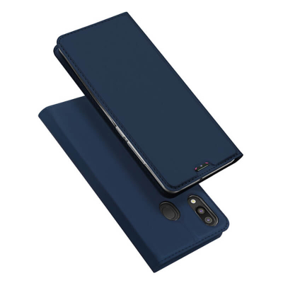 Чехол-книжка Dux Ducis Skin Pro для Samsung Galaxy M20 M205F Navy Blue