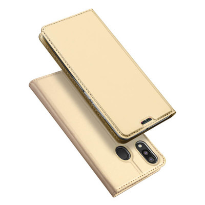 Чехол-книжка Dux Ducis Skin Pro для Samsung Galaxy M20 M205F Golden