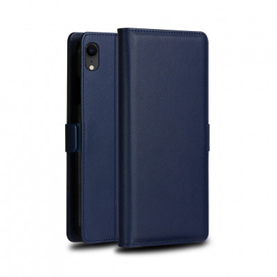 Чехол-книжка DZgogo Milo Series для Samsung Galaxy M10 Navy Blue