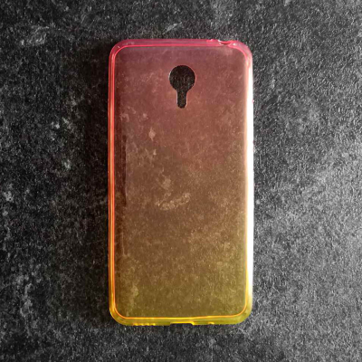 Чехол Shell для Meizu M2 Note Rose/Yellow Gradient