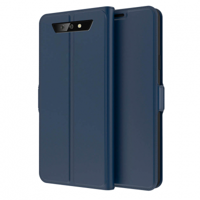 Чехол-книжка EcoCase Prestige для Blackview BV5500 / BV5500 Pro Navy Blue