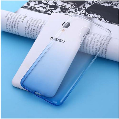 Чехол Shell для Meizu M3e White/Blue