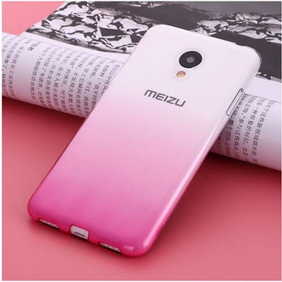 Чехол Shell для Meizu M3e White/Rose