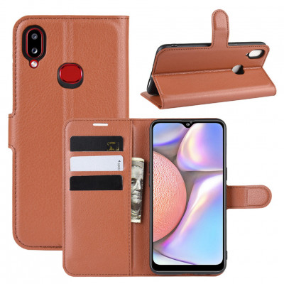 Чехол-книжка EcoCase для Samsung Galaxy A10s A107F Brown