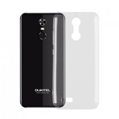 Чехол Shell для Oukitel C8 Transparent