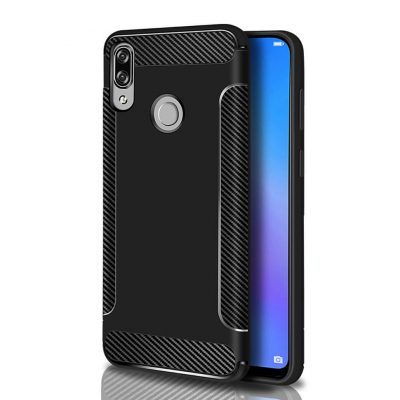 Накладка BeCover Carbon II Series для Huawei P Smart+ (Plus), Черная