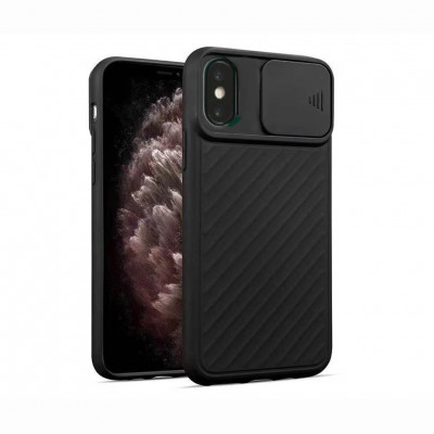 Чохол Lenuo Flap для Apple iPhone Xr Black