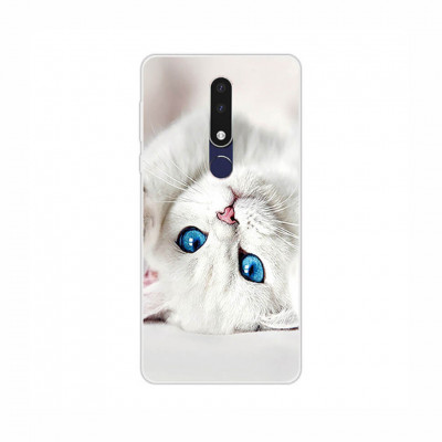 Чехол Shell для Nokia 3.1 Plus Kitty