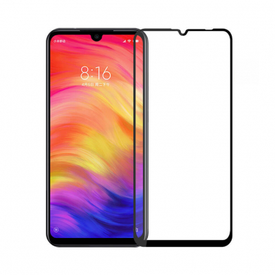 Защитное 6D Full Glue Стекло Rinbo для Redmi 7 Black